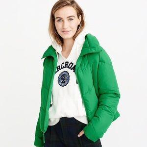Abercrombie & Fitch Ultra Mini Puffer XS Green